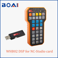 WHB02 DSP CNC Controller for NC Studio card cnc router parts wireless controller