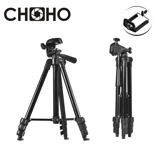 Tripé Portátil Câmera Digital Filmadora tripe Tripés Stand peso Leve de Alumínio tripé 1 M Show Online para Canon Nikon Sony