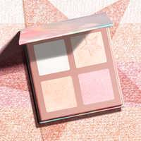 FOCALLURE 5 Farben Textmarker Palette Hohe Pigment Schimmernde Cremig Pulver Licht Gelb Professionelle Illuminator Gesicht Make-Up