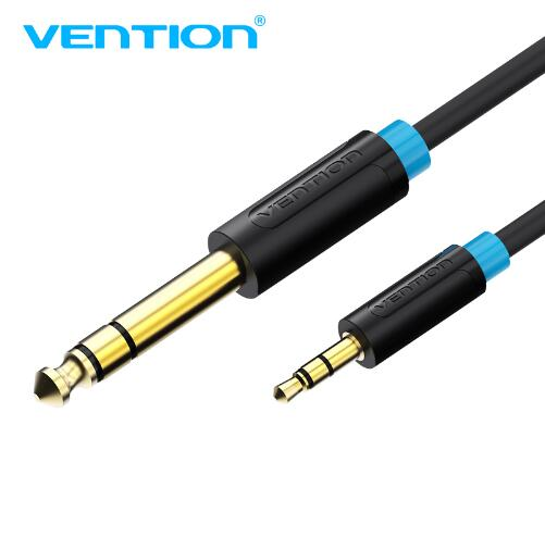 Vention 3.5mm <font><b>to</b></font> 6.35mm <font><b>Adapter</b></font> Aux Cable for Mixer Amplifier Gold Plated <font><b>3.5</b></font> Jack <font><b>to</b></font> <font><b>6.5</b></font> Jack 3m 5m Aux Cabo Male <font><b>to</b></font> Male image