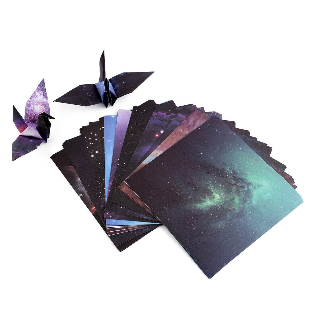 15*15 Cm Starry Sky Muster Papier Falten Frühen Lernen Bildung Spielzeug Für Kid Kinder