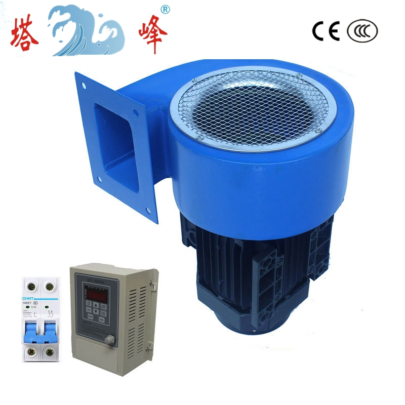 0 37KW 500pa medium pressure industrial air blast centrifugal fans with VFD air volume adjustable in Blowers from Tools