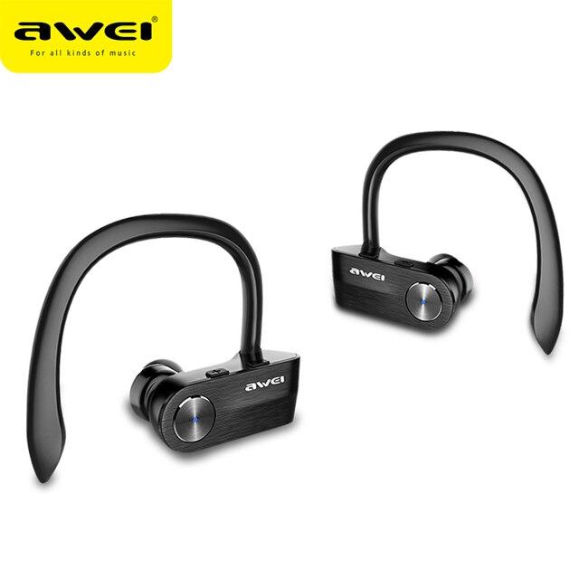 AWEI T2 Senza Fili del Trasduttore Auricolare di Bluetooth TWS Stereo  Auricolare Auricolari per Telefoni Cuffie 1943cbb8059b