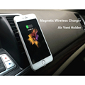 360 Degree QI Wireless Charger Car Holder for Samsung S6 S7 Note 5 Note 7 Magnetic Holder For HTC LG Air Vent Mount For iPhone