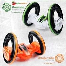 Бесплатная доставка два-Колёса анти-борьба 360 градусов вращающейся прокатки электрическая модель автомобиля трюк автомобили управления Игрушечные лошадки для детская