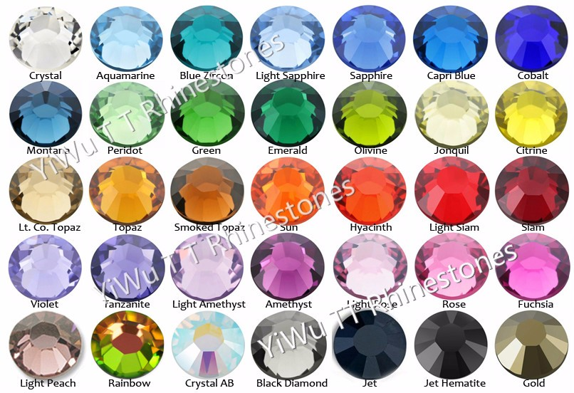 Color Chart of DMC Rhineston_meitu_1