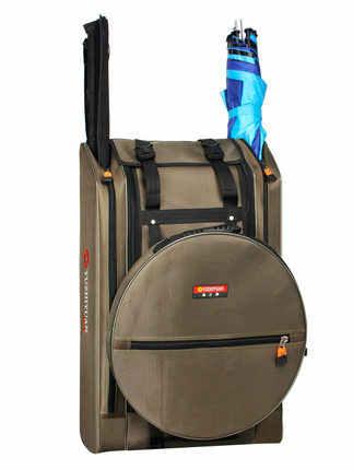 fishing chair hand wheel ergonomic buy detail feedback questions about bag 80cm tb06 gear waterproof multi function shoulder