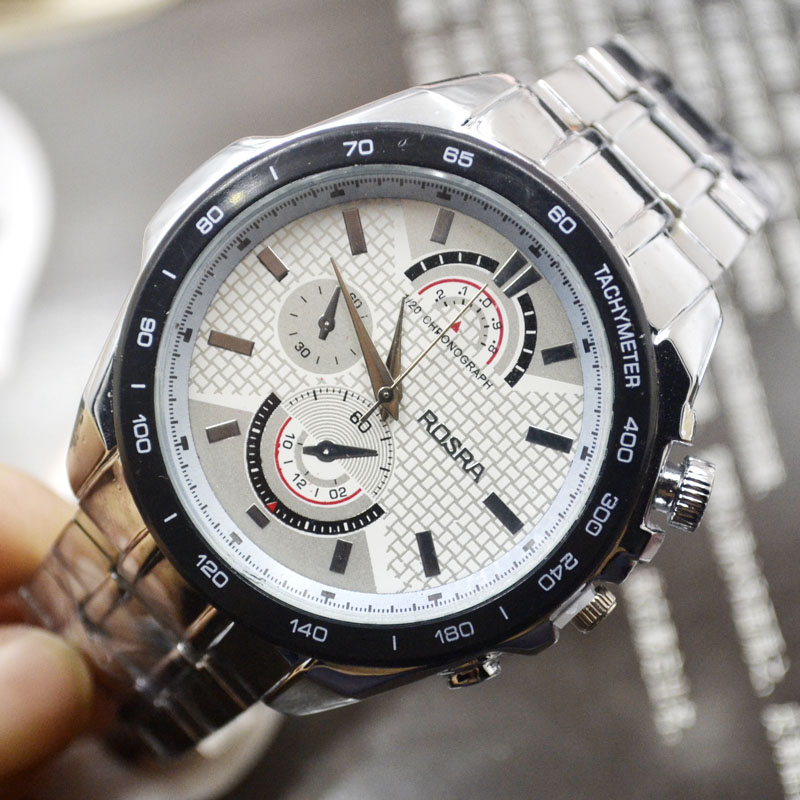 Jhlf Cheap Special Price Steel Belt Table Noble Trend Simple Style Men's Watch Male Table Clearance Male Quartz Watch