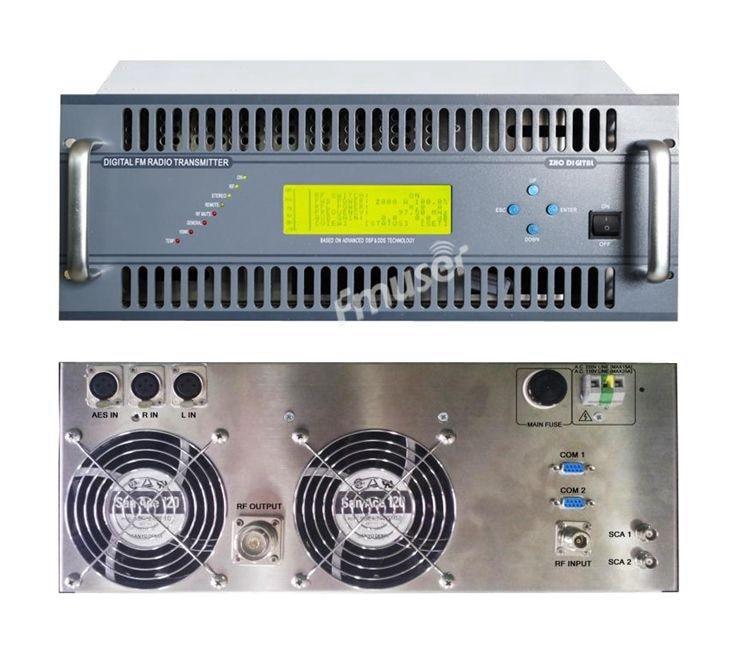 ZHC618F-2000W 2000 Вт 2 кВт передатчик ЧМ-вещание staion крышка города
