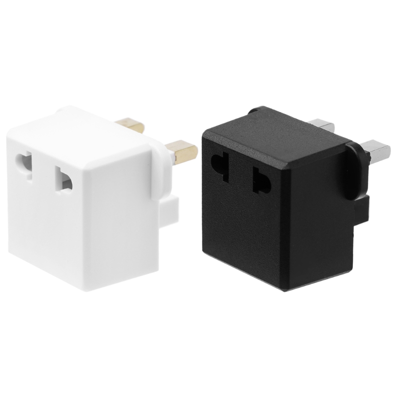 Travel to UK Great Britain England Plug Power Adapter Converter from EU US Plug CE0620 Drop shipping