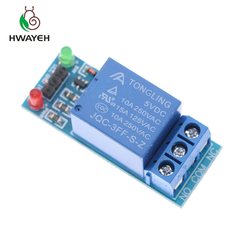 Free Shipping 1PCS 5V 12V Low Level Trigger One 1 Channel Relay Module Interface Board Shield For PIC AVR DSP ARM MCU Arduino