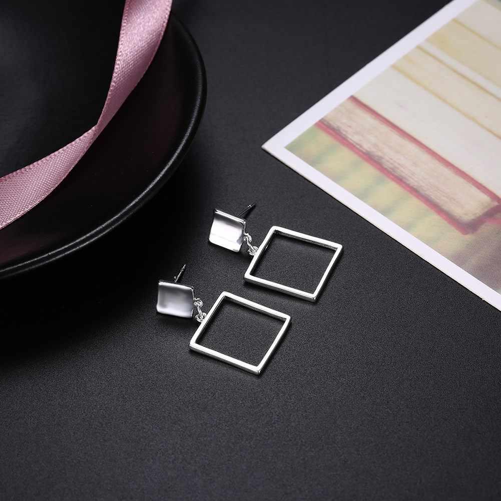 הפרזת עיצוב תכשיטים כסף מצופה עגילים לנשים תכשיטי חתונה תכשיטי ספק פופולרי עגילים