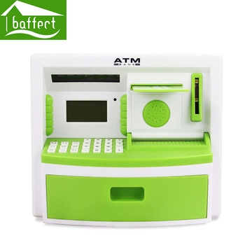Safety Electronic Digital Piggy Bank Mini ATM Money Box Music Password Saving Coins Cash cofre Chinese Speech as Children Gift cup