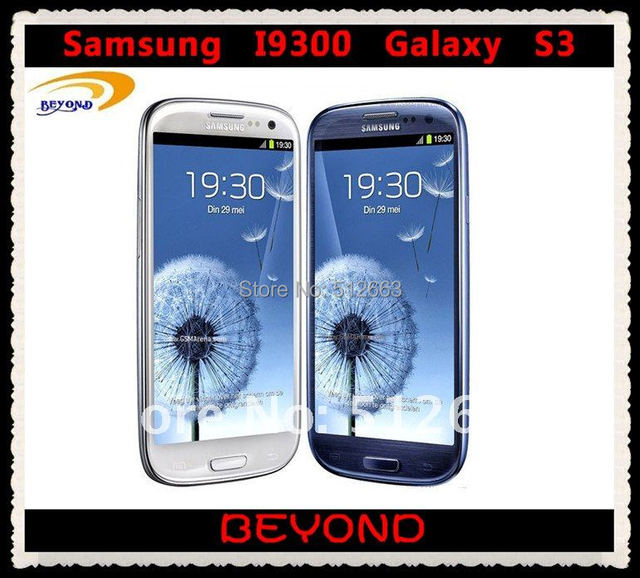 "Samsung Galaxy S3 i9300 Original Unlocked 3G GSM Android Mobile Phone Quad core 4.8"" 8MP WIFI"