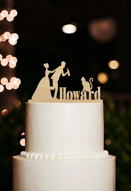 funny wedding decoration cake topper bride and groom cake toppers