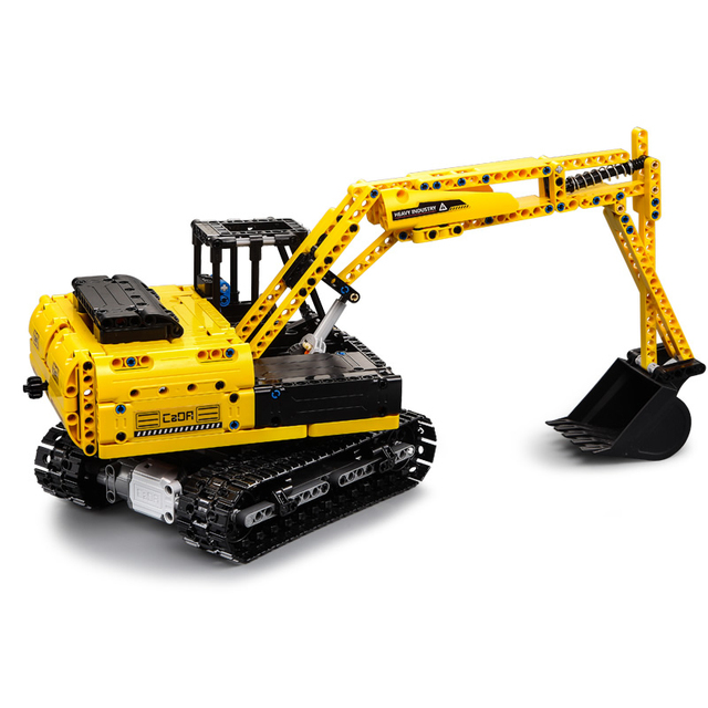 Mould king engineering excavator ultimate all terrain rc truck building blocks city technic car rc toys lepin™ land
