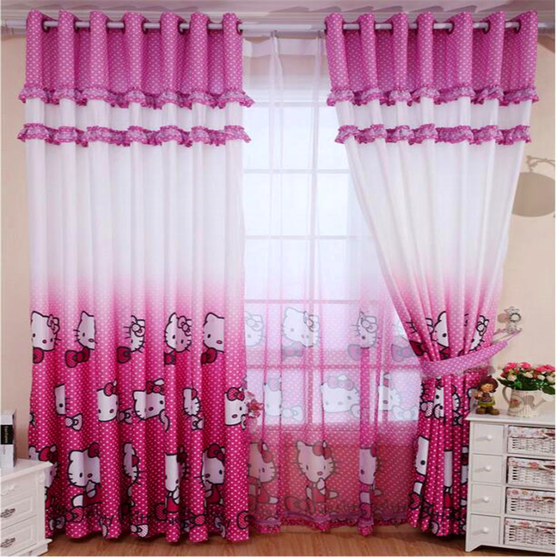 ZHH   Single Panel   Children Bedroom Tulle Curtains Girl Room Window  Curtain Cartoon Kids Curtain. Online Get Cheap Kids Curtains Girls  Aliexpress com   Alibaba Group