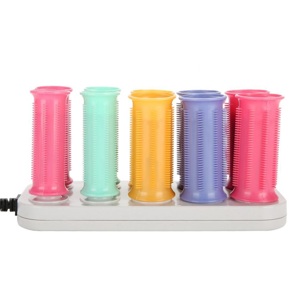 Image 3 - Conjunto de Rolos de Cabelo Varas Do Cabelo Rolo de Curling Rolo elétrico Aquecido Tubo Seco & Molhado EncaracoladoBobs para cabelo   -