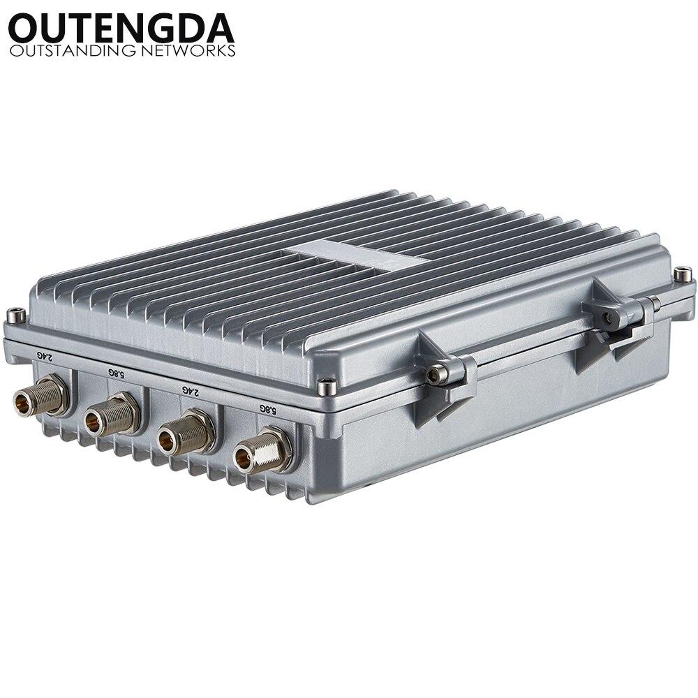 Routeur haute puissance de point d'accès sans fil INTELLIGENT 802.11AC 5.8 Ghz 1200 Mbps pour le projet de couverture WIFI extérieure Booster de Signal AP - 4