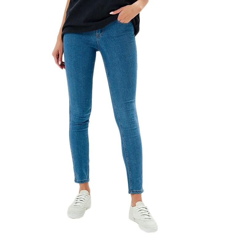 Jeans MODIS M182D00005 pants clothes apparel for female for woman TmallFS jeans modis m181d00294 men for pants male clothes apparel for male tmallfs