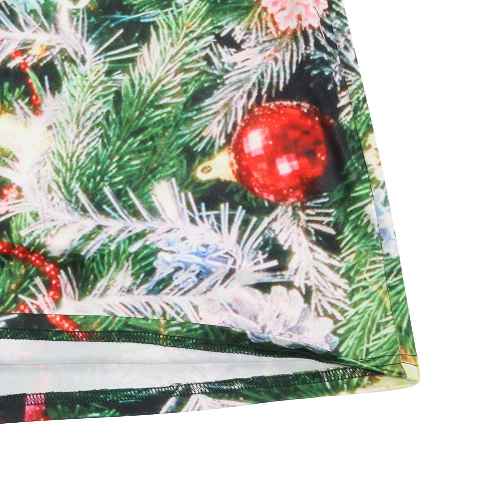 Grün Weihnachtsbaum Tennis Kleid Lang 3d Print Lady Strand Maxi ...