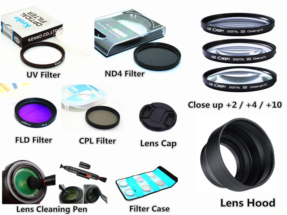 60mm on Can Alician Lens Hood for Nik ny Camera Lens Take Reflection Photos Video Silicone Camera Lens Hood Large on So