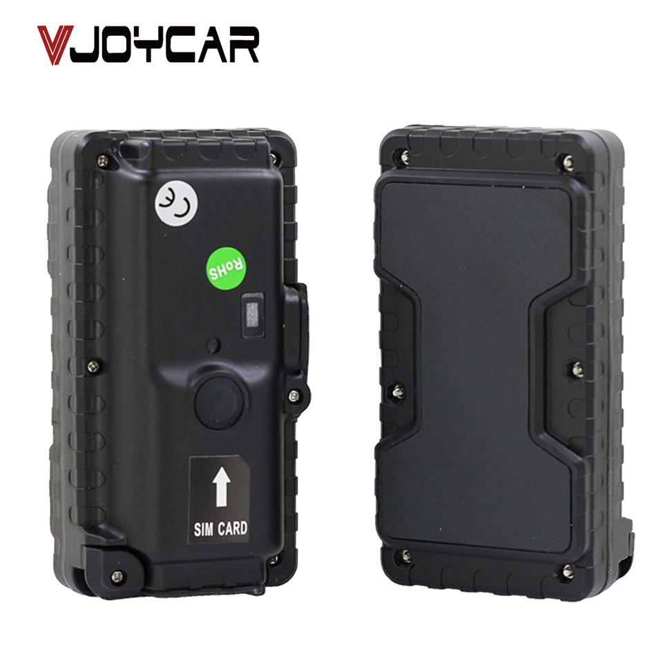 VJOYCAR T4400SE Waterproof GPS Tracker Magnet Vehicles Human Container Assets Tractor Tracking Standby 900 Days GPS Para Carro personal assets