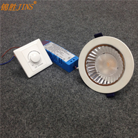 Simple dimmer Knob type LED dimming lamp dimming driver dimmer indoor lighting lamp tube