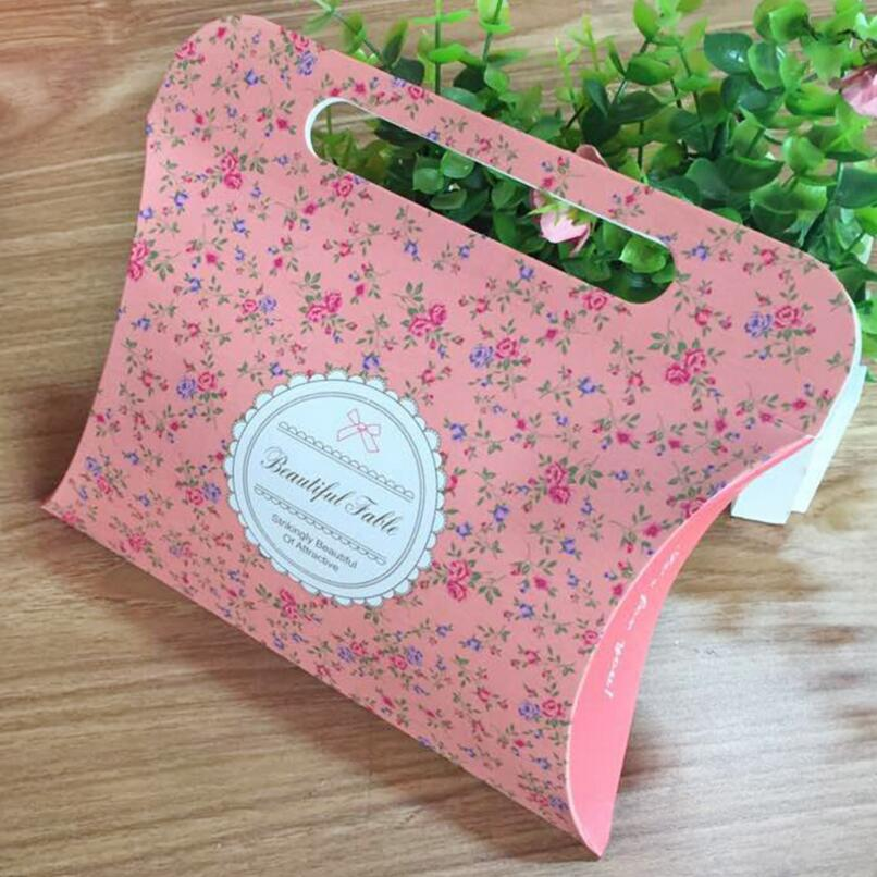 50pcs/lot Kraft Paper Packing Gift Candy Box,Wedding Favour Pillow Box,kraft Packaging Boxes