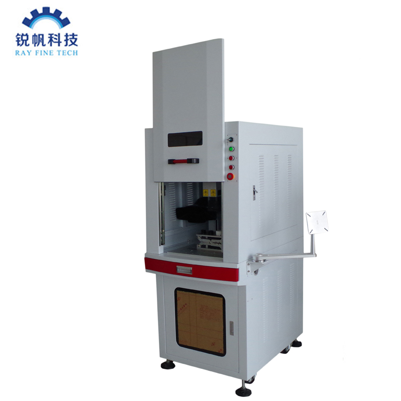 High quality 3W UV laser marking machine with chiller CW