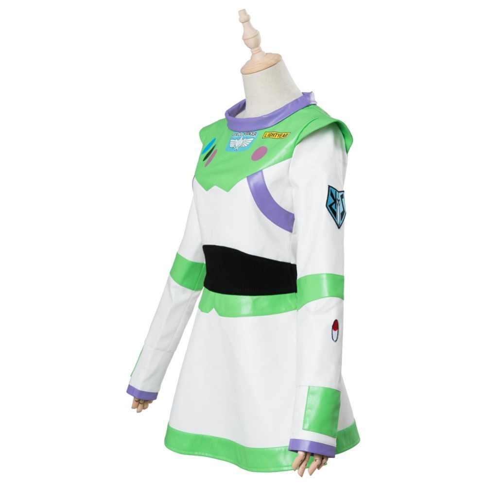 b986d13b7843 ... Disfraz de Cosplay de Historia de juguete disfraz de Buzz Lightyear para  mujeres adultas niñas vestido ...