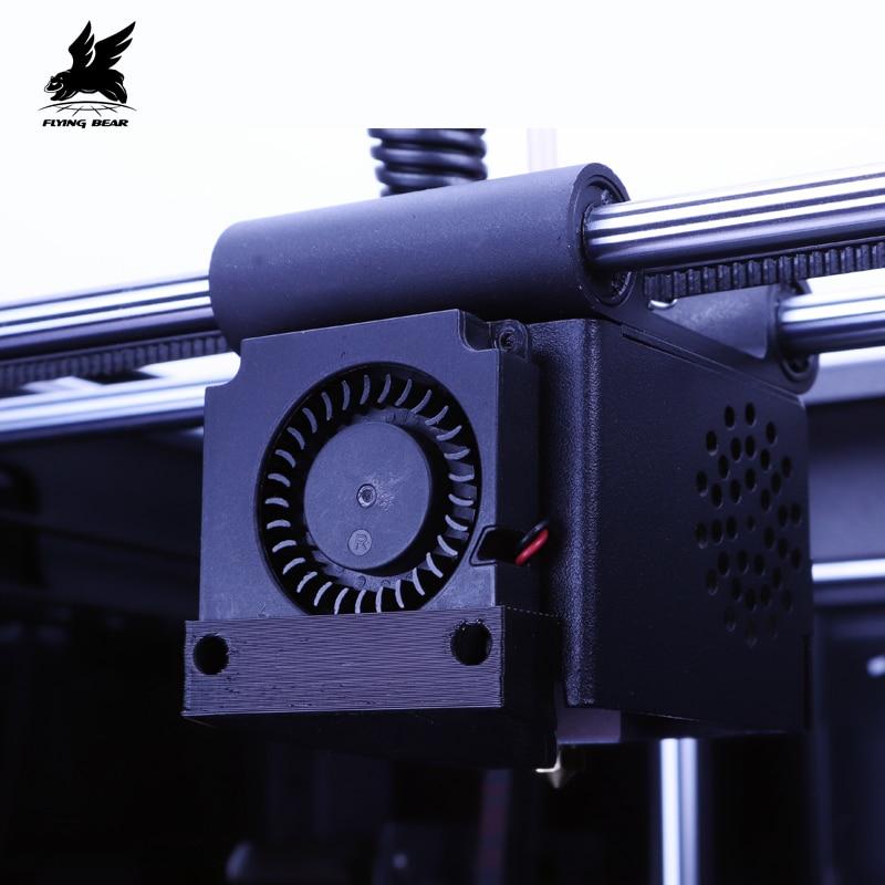 2019 Newest Design Flyingbear Ghost4 3D Printer full metal frame High Precision 3d printer Diy kit glass platform Wifi in 3D Printers from Computer Office
