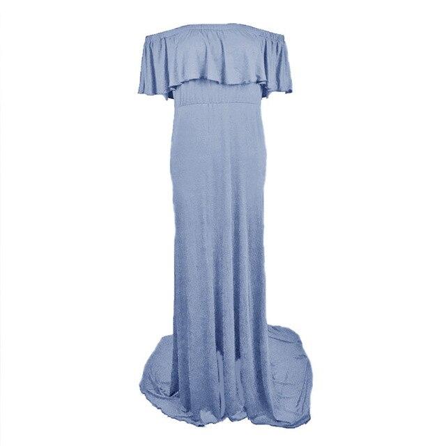 Robes de maternité sans épaules | Accessoires de photographie de maternité, robe de grossesse, robe Maxi de photographie