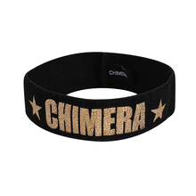CHIMERA Sports Elastic Headbands for Women Men Fashion Letter Black Head Sweat Band Wide Yoga Running Football Sport HairBand