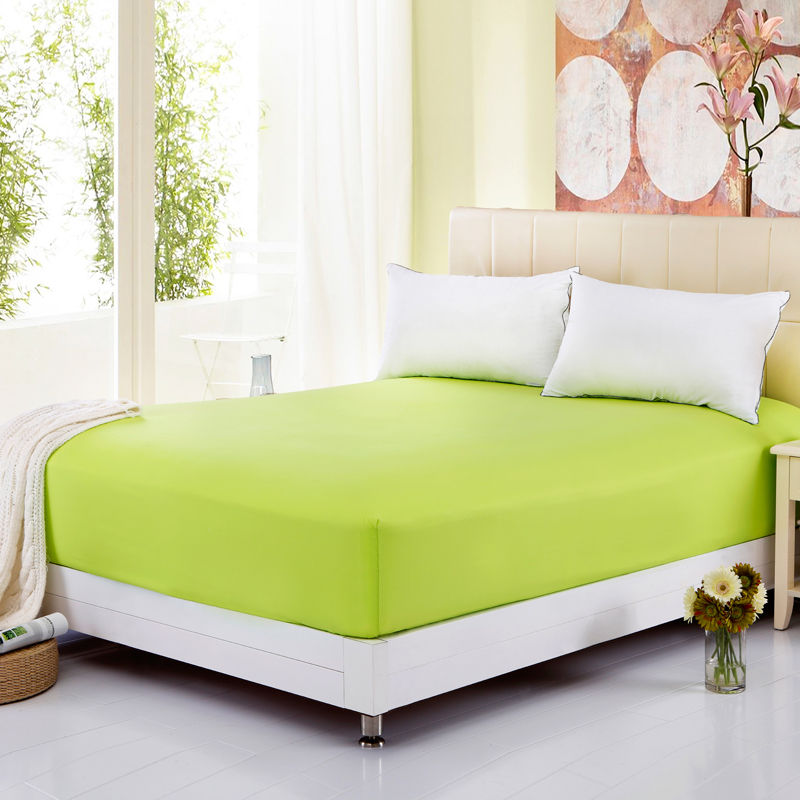 high quality summer colored mattress cover ed bedding sheet