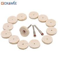 100ps Bag Mini Buff Polishing Wheels For Dremel Rotary Tools Grinding Cotton Cloth Wheel Abrasive Tools