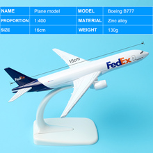 Air FedEx Express B777 Airlines Boeing 777 Airways Plane Model Aircraft 16cm Alloy Metal Airplane Model w Stand Gift