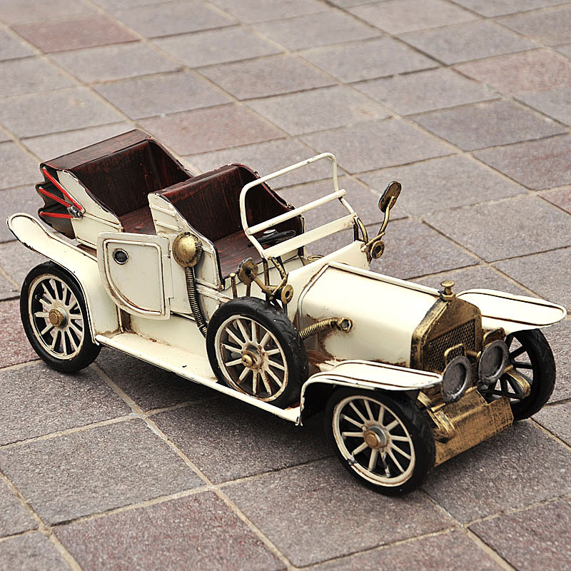Nostalgic antique vintage car 35 old European style of the ancient ...