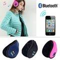 Soft Warm Beanie Hat Llevar Auriculares Auriculares Micrófono Altavoz Bluetooth Inalámbrico Inteligente Invierno Desgaste Inteligente