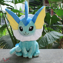 Anime Monsters XY Plush Toy Vaporeon Family Movies & TV Plush Toy Dolls Soft Stuffed Animals & Plush Kids Gift 13 35CM monsters inc 43cm sulley sullivan 25cm babblin boo plush toy monsters university soft stuffed doll for kids gift