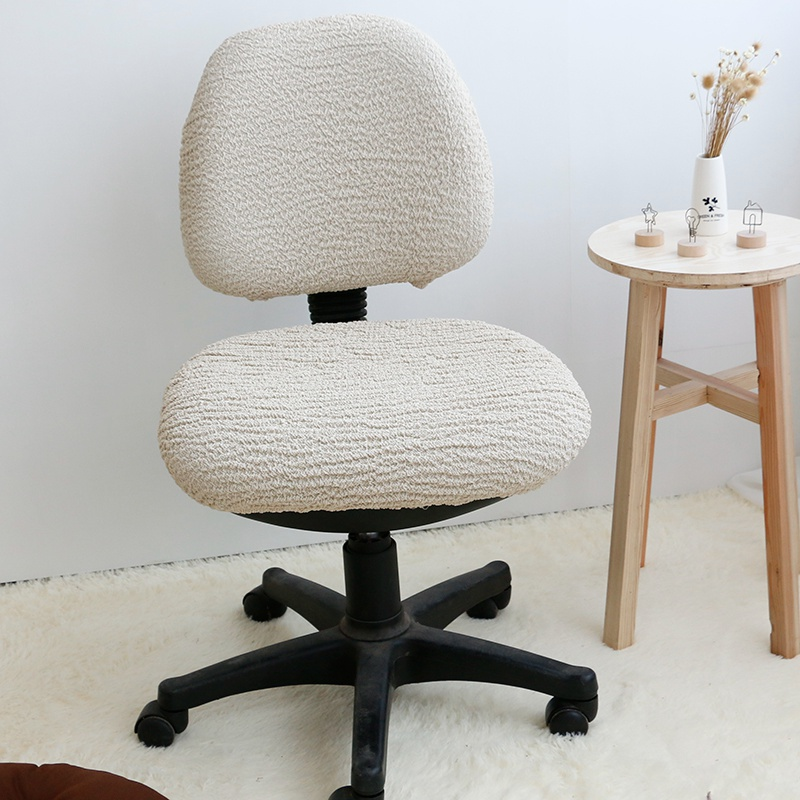 Chair Seat Covers With Elastic Infant Play Removable Cover High Office Stretch Computer Dining ...