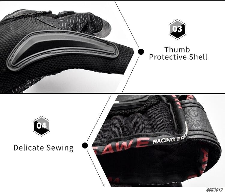 moto gloves 30