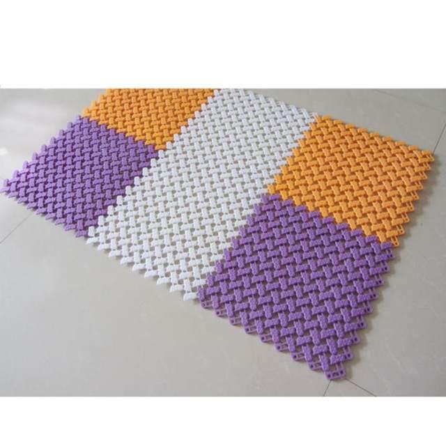 Online Shop DIY Tapijt Snoep Kleuren Plastic Badmatten Gemakkelijk ...