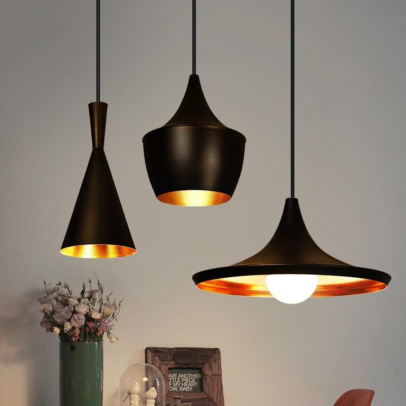 New tom dixon copper shade musical pendant lamp Beat Light Postmodern Minimalist Restaurant Pendant Light Hanging Lamp Lightin