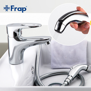 Image 1 - Frap ทองเหลืองวัสดุห้องน้ำก๊อกกับ bidet ก๊อกน้ำมีการติดตั้งอุปกรณ์เสริม F1268