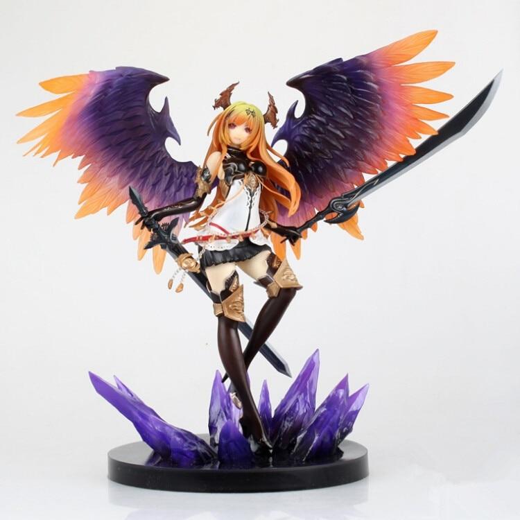 Jeu animé Kotobukiya Rage de Bahamut ange sombre Olivia Ani Statue 29 CM PVC figurine jouet nouveau lâche cadeau Collection poupée