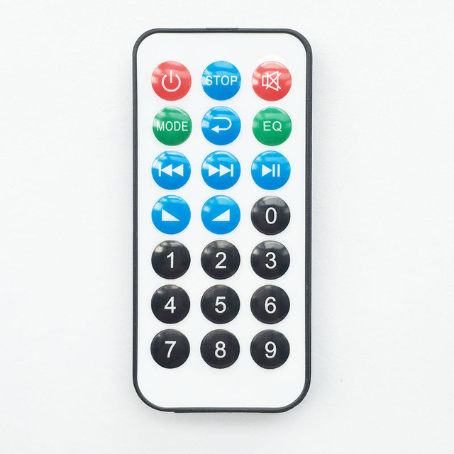 21 Keys Remote controller MP3 Decording board IR Remoter Control MP3 Kit IR Music Player Reciver (not universal use)