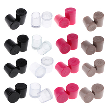 1 Pair Heel Repair Caps Covers High Heel Protector For Womens Shoes society 86 womens baha 01 dress high heel