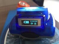 Mejor 2 piezas 6200MAH 3W a prueba de explosiones linterna de minero Cap lámpara New Kl6 reflector