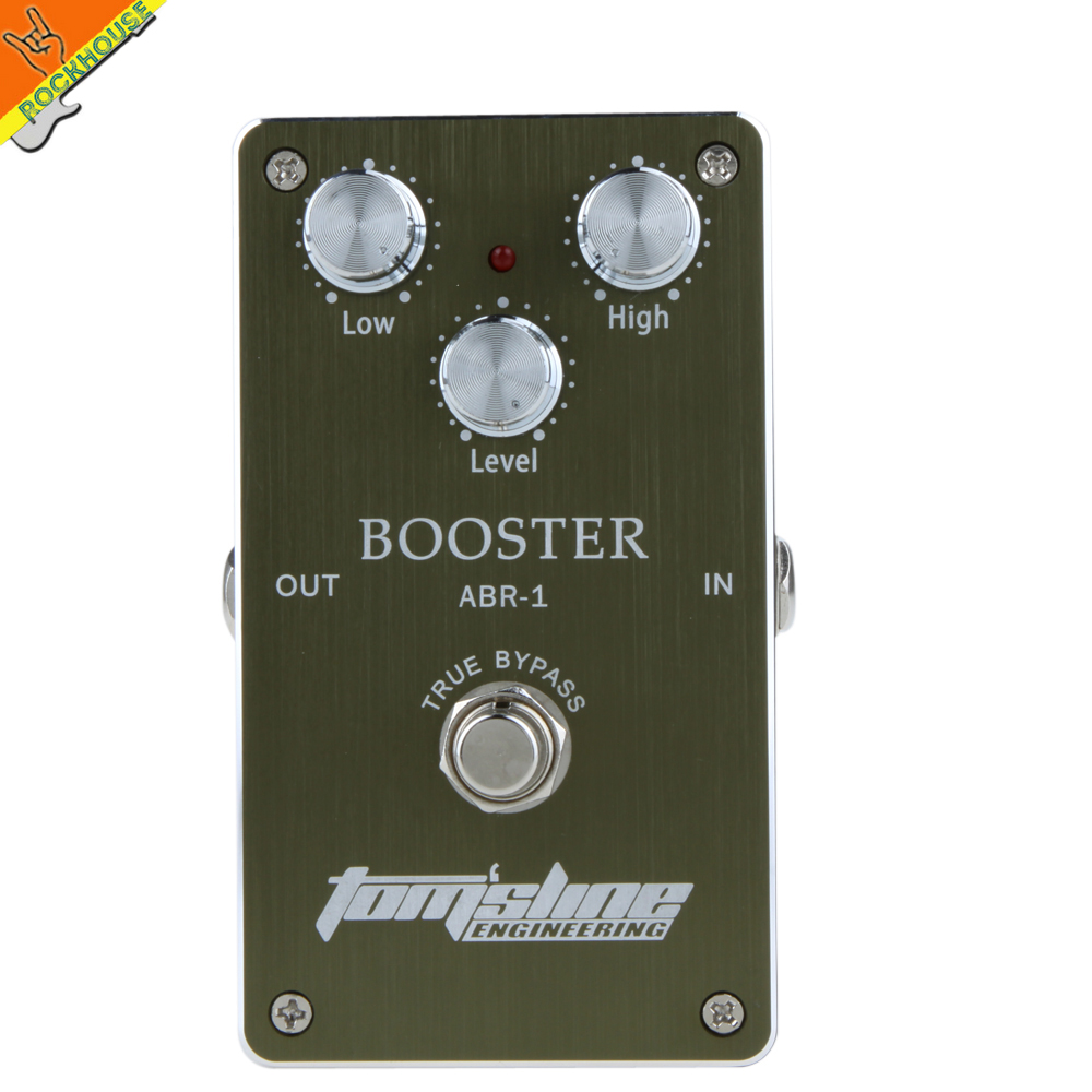 Aroma ABR-1 Guitar Clean Boost Effects Pedal Clean Booster Overdrive Booster Pedal Light the tone Enhance Presence Free shipping mooer flex boost guitar pedal with wide gain range boost enough working along as a best overdrive